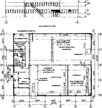 Схема генерального плана предприятия.  Вытекалщая из его технологической схемы и определякчая форму.